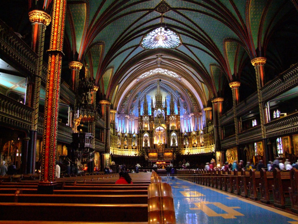 Notre-Dame Cathedral Montreal