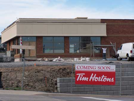 Tim Hortons Coming Soon...