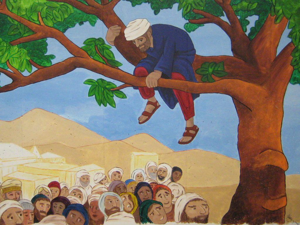 clipart jesus and zacchaeus - photo #20