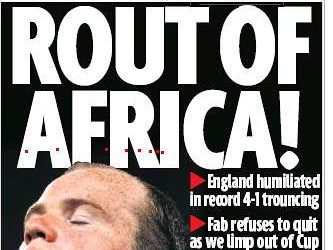 Rout of Africa