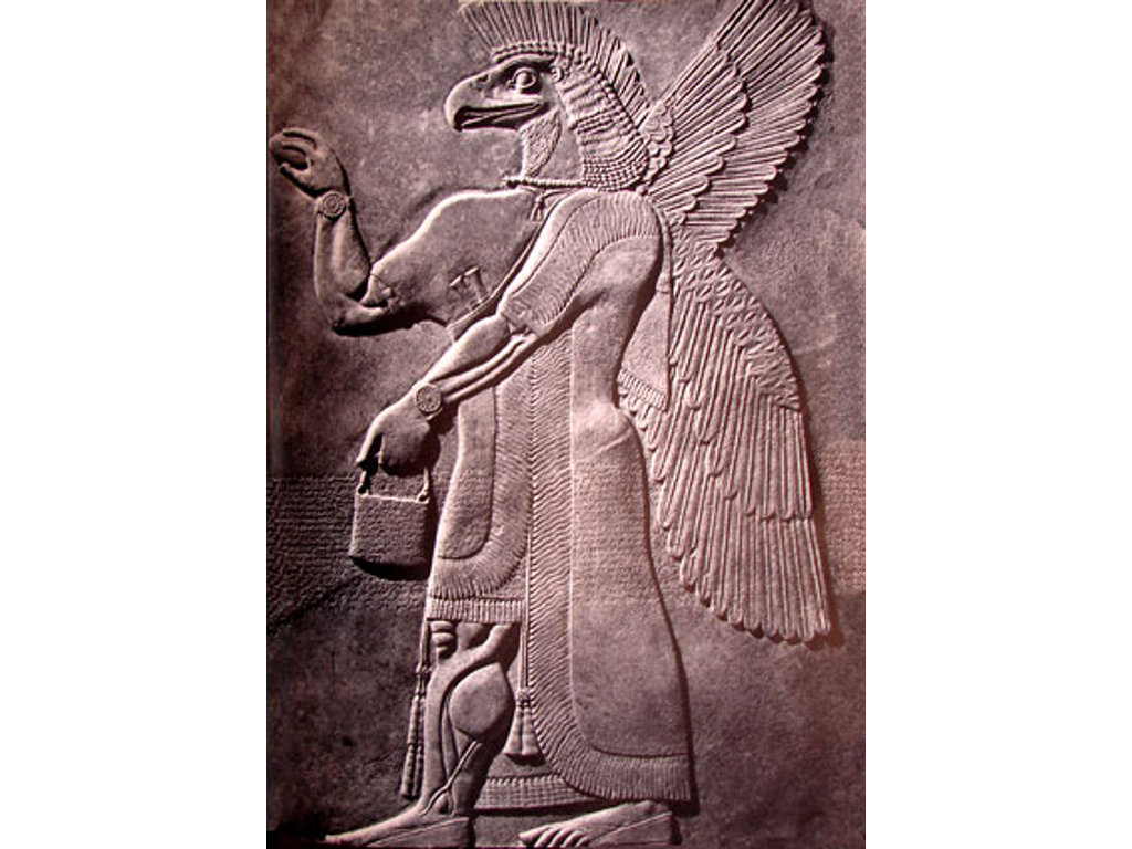The Assyrian god Nisroch