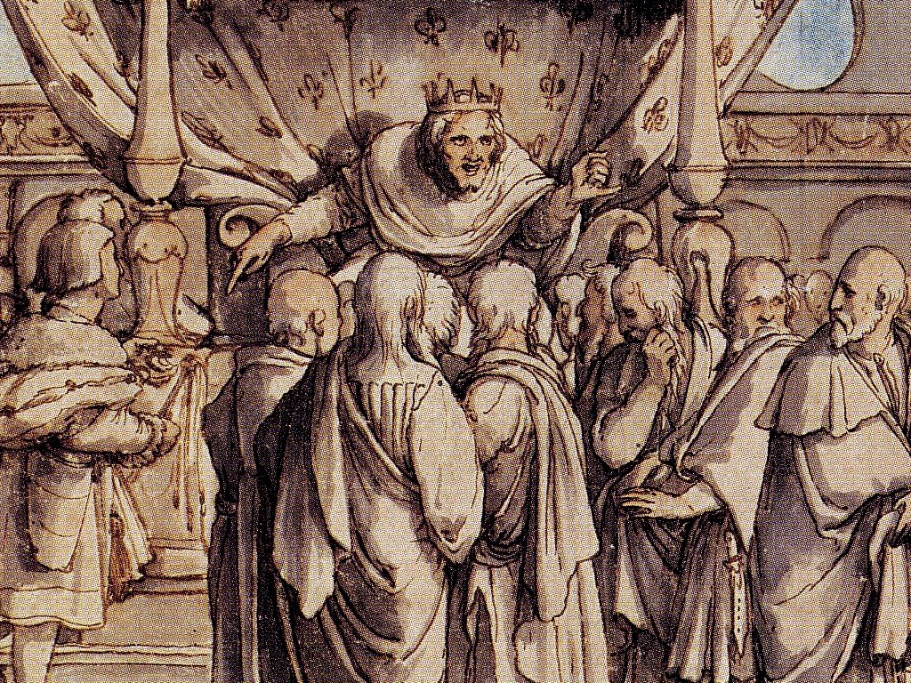 King Rehoboam's stupidity