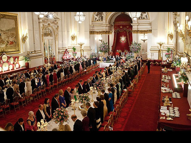 Buckingham Palace Obama banquet