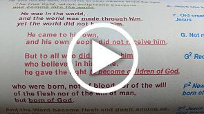 The extraordinary poem hidden in the first 18 verses of John