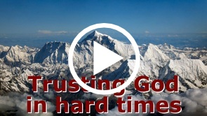 Trusting God in Hard Times - Reading the O.T. in a way that lets it speak truly into our lives: Is. 55