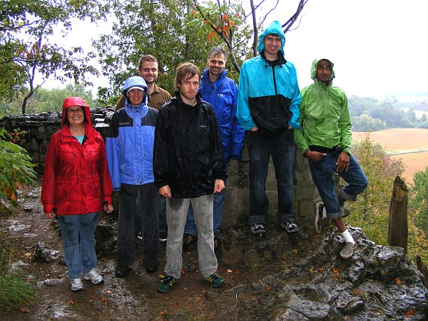 There was some rain, but it didn't spoil the walk - Newlife Church Toronto day out to the Niagara Escarpment